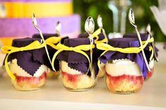 A Xocolats serve os Cupcakes in a jar nos sabores nozes, pistache, brigadeiro e doce de coco com ameixa (Foto: Divulgação)
