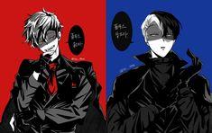 [Villain] Midoriya Izuku & [Villain] Todoroki Shouto