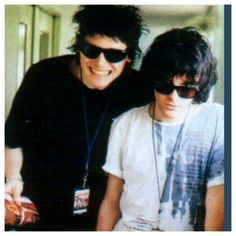 Nicky Wire and Richey James