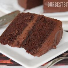Old-Fashioned Chocolate Layer Cake