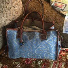 Bag Denim bag Dooney & Bourke Bags Totes