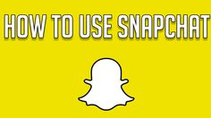 HOW TO USE SNAPCHAT FOR BEGINNERS - Snapchat Tricks and Tips by BreakTheInternet #beginner #snaps #chat  https://www.youtube.com/watch?v=8sntEyrviFk