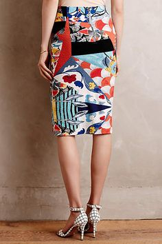 Tearoom Pencil Skirt - anthropologie.com