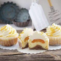 Aprikosen-Cheese-Cupcakes Rezept | Küchengötter