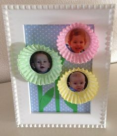 Crafts for grandma; the nicest gifts to make with your child for the birthday or mother& day - Mamal Liefde. Baby Crafts, Fun Crafts, Diy For Kids, Crafts For Kids, Presents For Kids, Creative Kids, Kids And Parenting, Special Day, Diy Gifts