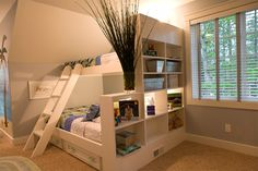 In this post readers will get to know some of the best space saving bunk beds for small rooms. Bulk bed ideas and space saving bunk beds are way to better when Bunk Beds With Storage, Kids Bedroom Storage, Bunk Beds With Stairs, Cool Bunk Beds, Kids Bunk Beds, Bed Storage, Storage Ideas, Organization Ideas, Smart Storage