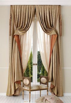 Window treatments for tall narrow windows. Blinds and shades.- Window treatments for tall narrow windows. Blinds and shades for small spaces, r… Window treatments for tall narrow windows. Blinds and shades for small spaces, rooms. Hanging Curtains, Curtains With Blinds, Valances, Window Curtains, Bedroom Curtains, Bedroom Windows, Diy Curtains, Home Theaters, Drapery Designs