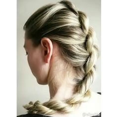 - French Twist Braid Tutorial by @eliselille - TAG Someone who should try this look!                                                                                                                                                                                 More