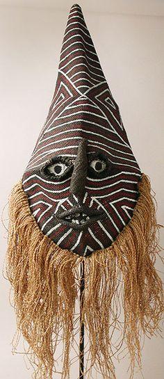 MAKISHI CHOKWE MASK | African Masks - Chikunza Makishi mask from Zambia