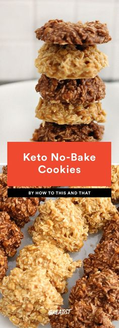 keto no-bake cookies