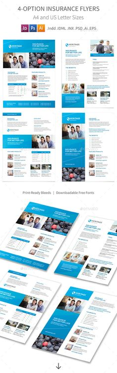 Buy Insurance Company Flyers – 4 Options by Mike_pantone on GraphicRiver. Insurance Company Print Bundle is also available.Insurance Company Flyers – 4 Options Clean and mo. Pantone, Business Flyer Templates, Corporate Flyer, Flyers, The Help, Photoshop, Lettering, Insurance Law, Ad Company