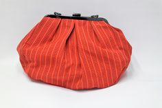 Unique Handmade Fabric Bag ( The super clutch to give a personal and charming touch to your daily style. Made from cotton fabric with striped twill interior and comfortable glove pocket. Cotton Bag, Cotton Fabric, Handmade Fabric Bags, Daily Style, Glove, Daily Fashion, Touch, Pocket, Unique