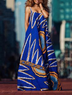 Wakanda Maxi Dress - African Print - Women's style: Patterns of sustainability African Inspired Fashion, African Print Fashion, Africa Fashion, Ethnic Fashion, Fashion Prints, African Print Dresses, African Fashion Dresses, African Prints, Dress Fashion