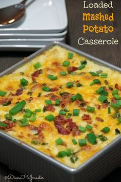 Looking for a great potato recipe for Thanksgiving or Christmas? This one is delicious!