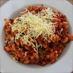 Simpele macaroni - Eenvoudig eten