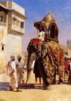 Edwin Lord Weeks. Elefante Mossul Edwin Lord Weeks. http://eldibujante.com/?p=9380 PAGNA CON PINTURA Y PINTORES DIVINOS