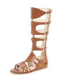 Summer 2012 Trends:  Lace up gladiator sandals, Seanna Boot from Michael Kors.