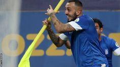 Romania-Greece 1-1 (agg 2-4) Mitroglou Δεν σταματώ να τραγουδώ ποτέ Οέεε, Ελλάς ολεεε ολέεεε!!!!! ❤