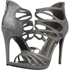 a7a0a96b60ef G by GUESS Girrlie (Pewter Glitter) High Heels ( 48) ❤ liked on