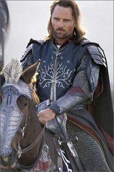 Viggo Mortensen-any man dressed like this would get my attention