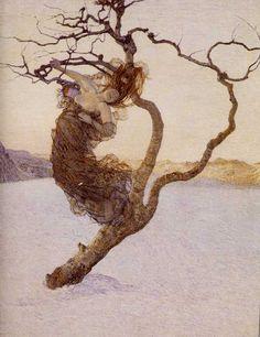 §§§ : Le Cattive Madri : Giovanni Segantini : 1894
