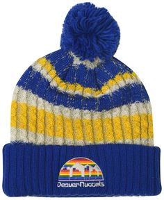 06b14686 Mitchell & Ness Denver Nuggets Irish Sweater Knit Hat, $25.00