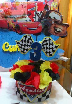 DECORACIONES INFANTILES Car Themed Parties, Cars Birthday Parties, Birthday Party Decorations, Disney Cars Party, Disney Cars Birthday, Mickey Party, Auto Party, Race Car Themes, Festa Hot Wheels