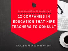 12 Companies in Education That Hire Teachers to Consult