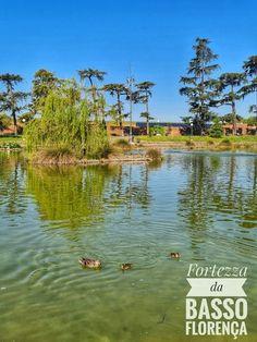 Il Lago dei Cigni na Fortezza da Basso de Florença