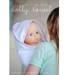 DIY Dolly Towel
