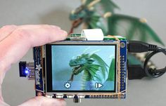 Raspberry Pi Touchscreen Display Used To Create Awesome Camera