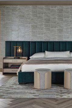 Modern Minimalist Bedroom, Modern Master Bedroom, Master Bedroom Design, Bedroom Wall Designs, Bedroom Furniture Design, Bedroom Decor, Bed Headboard Design, Headboards For Beds, Modern Headboard