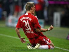 Schweinsteiger Bayern Munich #MiaSanMia