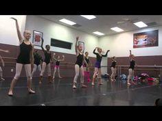 Lillie Modern Dance Class Warm Up