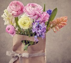 flowers, bouquet