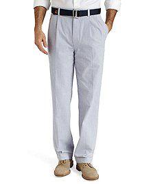 Seersucker Pants from Brooks Brothers