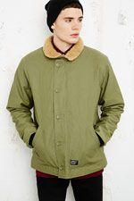 Carhartt Sheffield Deck Jacket at Urban Outfitters Sheffield, Carhartt, Urban Outfitters, Deck, Pullover, Shirt Dress, My Style, Sweaters, Mens Tops