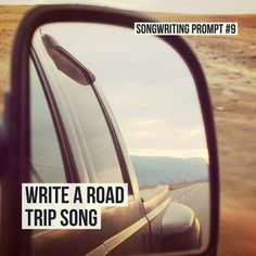 Free songwriting prompts created by Chicago-area musician, Julie Marie. Use these to spark creativity and jumpstart your writing! New prompts added all the time. Road Trip Songs, Road Song, Road Trips, Singing Lessons, Singing Tips, Creative Writing Prompts, Writing Tips, Music Writing, Writing Lyrics