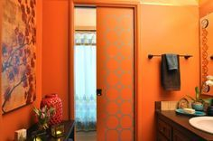 orange bathrooms - Pesquisa Google