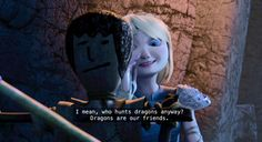Astrid's impression of Hiccup < This scene in RTTE was pretty funny. :)