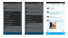 Skype for Android Update brings Photo Sharing with Offline Contacts