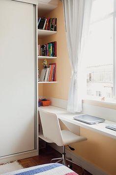MinhaCASA - Bom projeto foi capaz de acabar com o aperto desse apartamento