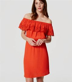 Update your wardrobe with this red cold shoulder summer sun dress. It's so versatile.