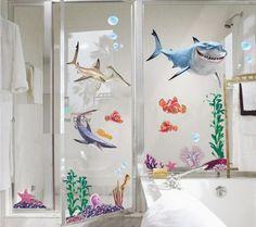 Adesivo Nemo Para Box De Banheiro Vidros E Janelas - R$ 48,89 no MercadoLivre
