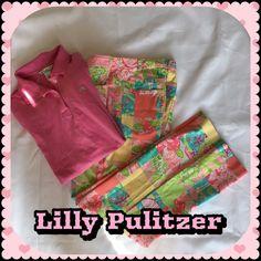Lilly Pulitzer Vintage Capri Pant Lilly Pulitzer Vintage Capri Pants. Gently Used / Excellent Condition.  No Pay Pal  No Trades  Lilly Pulitzer Pants Capris