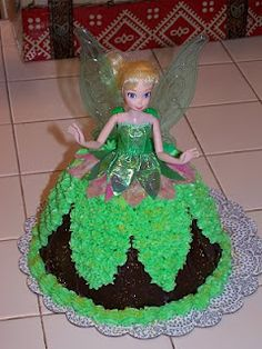 The Highlandview Pantry Tinkerbell Cake Doll Variation