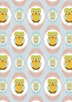 OWL PATTERNS | Paper Owl Pattern Pictures