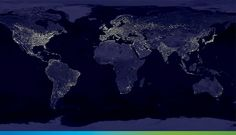 Developing Global Programs To Promote Resiliency Climate change is gaining momentum as global warming heats up. The impact on nations, cities, farms and ecosystems is rising fast. Light Pollution Map, Earth At Night, Climate Change Effects, Scary Places, Climate Action, Light Images, Wildlife Conservation, Dark Skies, Postcard Size