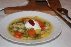 Szoljanka | Rizsázzunk! Cheeseburger Chowder, Thai Red Curry, Risotto, Soup, Ethnic Recipes, Soup Appetizers, Soups