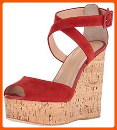 Giuseppe Zanotti Women's E70087 Dress Sandal, Rust, 10 M US - All about women (*Amazon Partner-Link)
